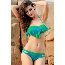 Sexy Bikini Traje De Baño Deportivo Sport Swimsuit De Moda