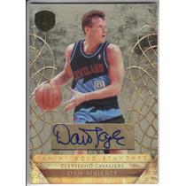 2010-11 Gold Standard Autografo Dan Majerle 87/199 Cavaliers
