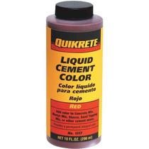 Liquido Rojo Color De Cemento 1317-03