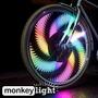 Rueda De La Bici Light - 32 Led A Todo Color Prueba De Agua