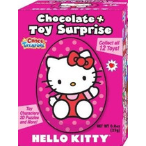 Hello Kitty Leche Huevos De Chocolate Con Toy Surprise! Box