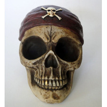 Pirata Decoración Cráneo Calavera Calaca Adorno Halloween