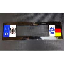 Porta Placa Europeo Alemania Audi Vw Bmw Mercedes 1 Pza