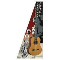 Paquete Guitarra Washburn Clasica Wc90pak