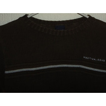 Sweater Nautica Kids Nuevo 100% Algodón Talla 7