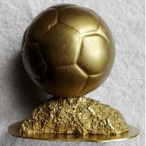 Estatuilla Trofeo Balón De Oro Deportes