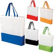 Bolsa Ecologica Bicolor. Promos, Eventos, Campañas, Regalos*