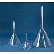 Embudo De Cristal Para Laboratorio 15 Cm Diam Pyrex