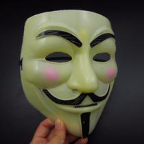 Mascara De Anonymous V De Vendetta V De Venganza Beige