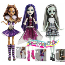 Monster High Alive Clawdeen, Spectra O Frankie Shopping.chic