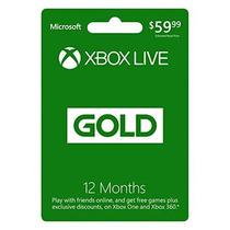 Xbox Live De 12 Meses De Membresía Gold - Código Digital