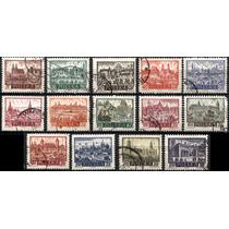 2908 Polonia Castillos Scott #947 14 S Usados L H 1960-61