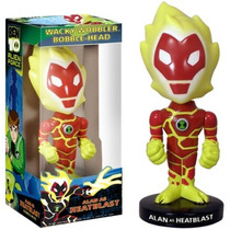 Heatblast Cabezon Wacky Bobble Head Ben 10