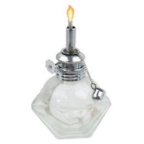Lámpara De Alcohol Con Adjusable Wick