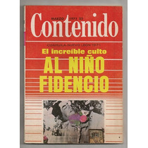 Culto Al Niño Fidencio Revista Contenido De 1971