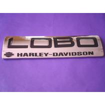 Emblema Lobo Harley Davidson Ford Camioneta Triton