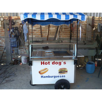 Carro Hot Dogs Carros Hot Dog Carreta Puesto Hotdogs