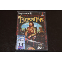 The Bards Tale Para Playstation 2. Sin Manual.