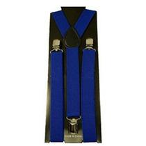 Clip-on Unisex Elásticos Tirantes Y-forma - Royal Blue