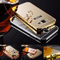 Bumper Lujo Aluminio Espejo Samsung Galaxy J5 J7 + Regalo