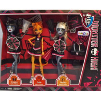 Monster High Gatas Porristas Paquete Toys R Us Exclusivo Mdn