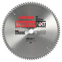 Cuchilla Sierra Circular Cortar Metales Csm72560nac Morse