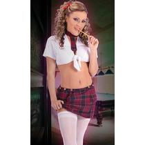 Sexy Disfraz De Colegiala Envío Gratis!!! Rm4