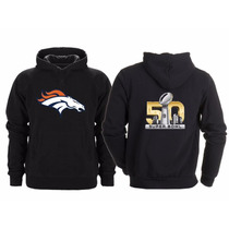 Sudadera Super Bowl 50 Nfl Denver Broncos