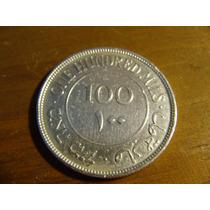 Palestina Antigua Moneda De Plata Año:1927 Valor: 100 Mils