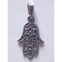 Dije Hamsa Con Estrella De David Plata Ley 925, Judaismo