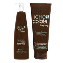 Loquay Travel Kit De Chocolate Shampoo + Acondicionador
