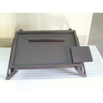 Mesa Para Laptop Plegable, Desayunador, Woow Madera Fina