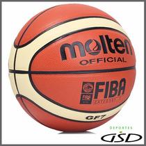 Balón Molten Basquetbol Piel Sintética Gf7 Fiba