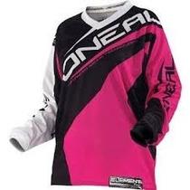 Jersey Oneal Dama Para Motocross Talla L