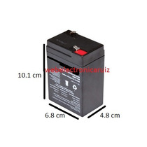 Bateria Recargable De 6 Volt 4 Amperes Para Carrito / Moto