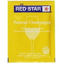 Estrella Roja Champagne Levadura (10 Paquetes) Levadura Seca