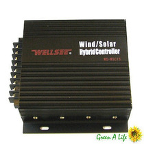 Controlador Hibrido 400w, 12/24v, Solar/eolico