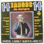 14 Tangos De Siempre 1 Disco Lp Vinil