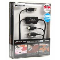 Roland Um-one Mk2 Interface Para Uso Profesional Midi-usb
