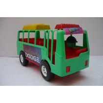 Autobus Foraneo Bus - Camioncito De Juguete - Camion Escala