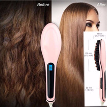 Cepillo De Ceramica Alaciador Plancha Fast Hair Straighter!!