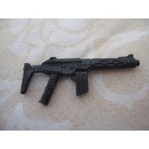 Gijoe 1990 Dial-tone V3 Black Submachine Gun