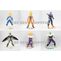 Set 6 Figuras Dragon Ball Z Articulada Goku Vegeta Barato