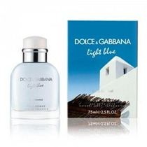 Maa Perfume Light Blue Living Stromboli D&g Caballero 125 Ml