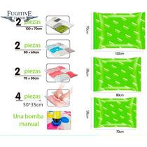 Lindo Y Practico Paquete D 10 Bolsas De Vacío Incluye Bomba