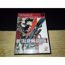 Metal Gear Solid 2 Sons Of Liberty Ps2 Play Station 2