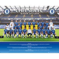 Equipo Chelsea Poster - Foto 13 14 Mini 40x50cm Fútbol