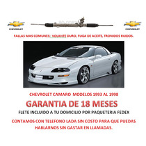 Caja Direccion Hidraulica Cremallera Bomba Chevrolet Camaro