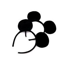 Finex Mickey Minnie Mouse Costume Deluxe Tela Orejas Diadema
