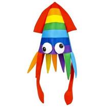 La Novedad Del Arco Iris Squid Sombrero Del Partido Del Traj
